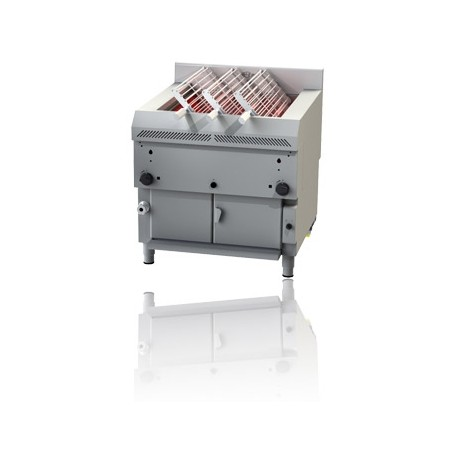 Gas Grill length 85.3cm rotated grid
