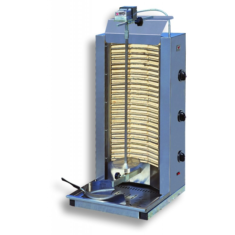 Electric Kebab Grill up to 100kg load