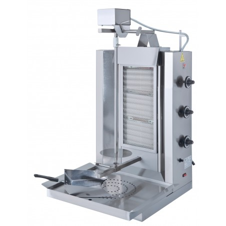 Gas Kebab Grill up to 35kg load
