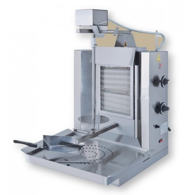 Small Gas Kebab Grill up to 15kg load