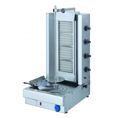 Gas Kebab Grill up to 100kg load
