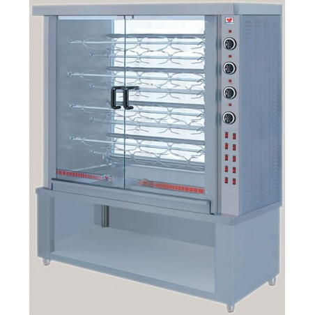 Electric Chicken Rotisserie for 36 chickens