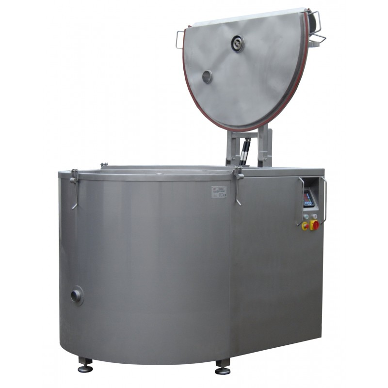 Gas Boiling Pan with mixer 300 litres