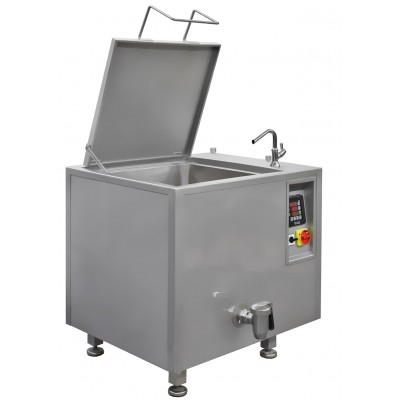 150 litres electric boiling pan with oil jacket