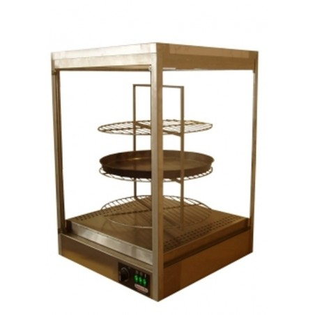 Hot Pizza Display Cabinet