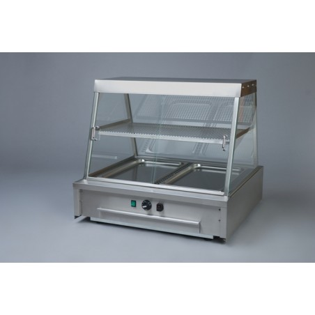 Hot Display Cabinet 2x1/1GN