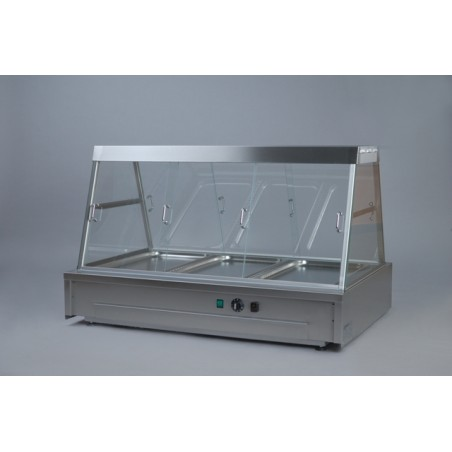 Hot Display Cabinet 3x1/1GN