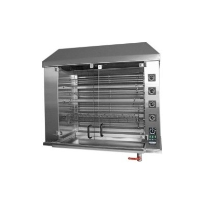 Electric Chicken Rotisserie for 42 chickens