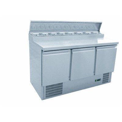 Salad counter with preparation top 1365mm