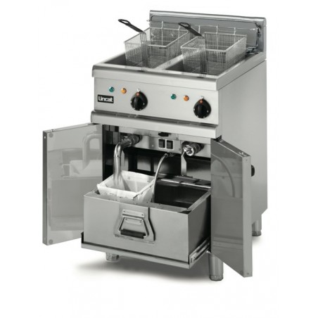 Free Standing Electric Fryer 2x16ltr twin tank