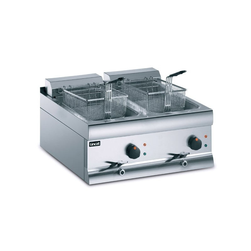 Electric Fryer 15ltr single tank, two baskets