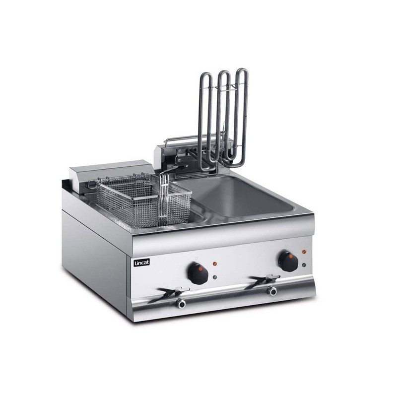 Electric Fryer 2x9ltr twin tank, two baskets