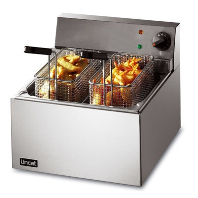 Electric Fryer 4ltr single tank, one basket