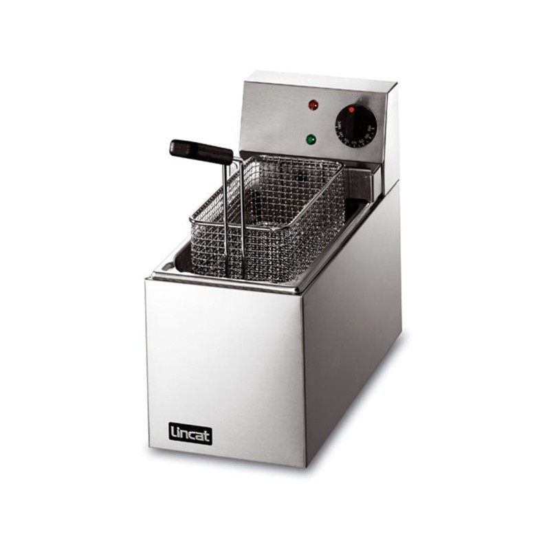 Electric Fryer 5ltr single tank, two baskets