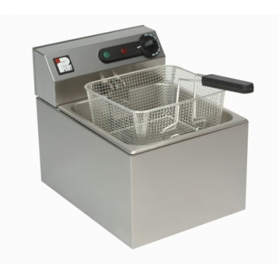 Electric Fryer 6ltr single tank, one basket