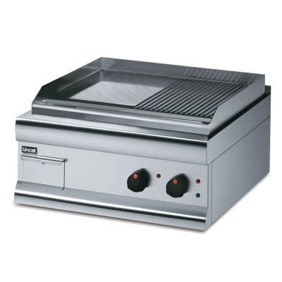 Electric Griddle with half grooved surface
