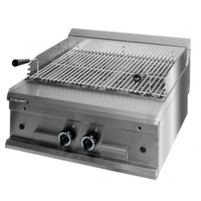 Lava Rocks Gas Grill dual zone