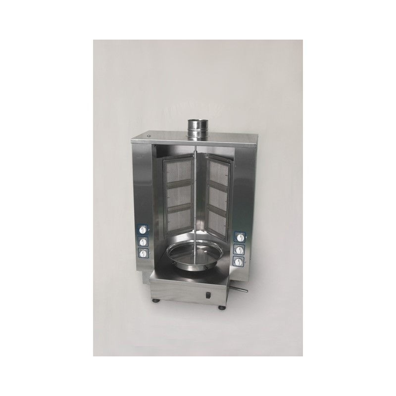 Enclosed Gas Kebab Grill - up to 60 kg load