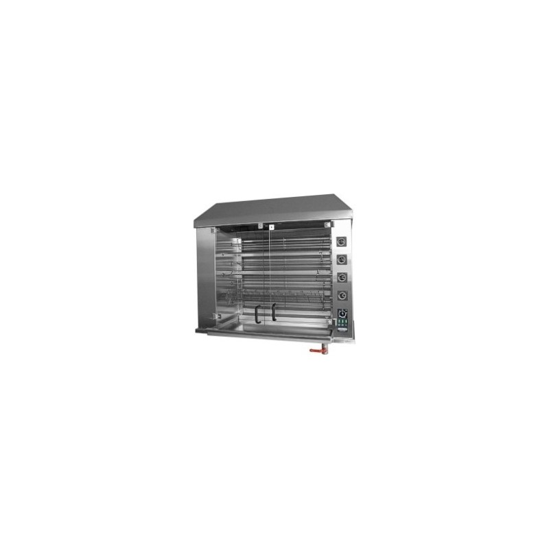Electric Chicken Rotisserie for 42 chickens Row System