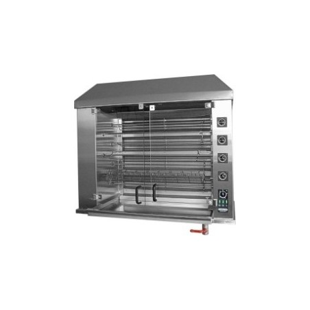 Electric Chicken Rotisserie for 90 chickens