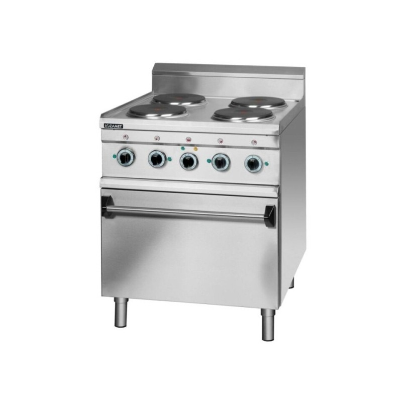 Electric cooker with oven & grill