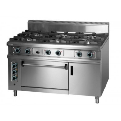 Gas Cooker with Electric Oven